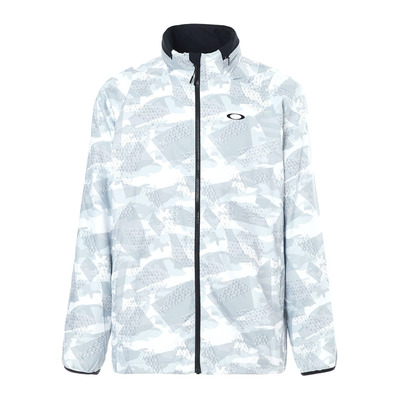 ENHANCE GRAPHIC WIND WARM 8.7 - Chaqueta hombre white print