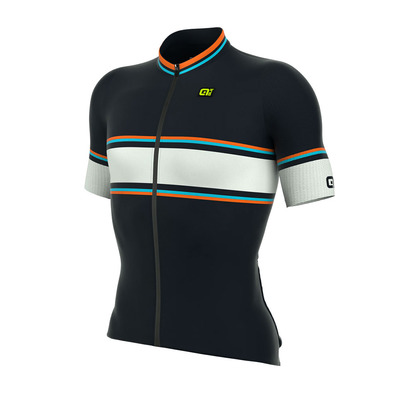 Alé R-EV1 SPEEDFONDO - Maillot Homme blue/fluo orange/light blue