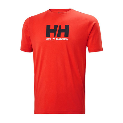 HELLY HANSEN - HH LOGO - T-Shirt - Men's - alert red