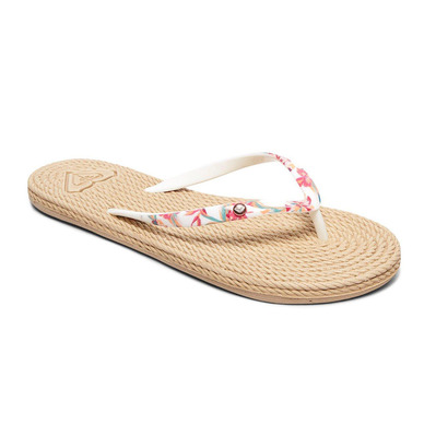 ROXY - SOUTH BEACH II - Tongs Femme white ringer
