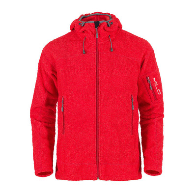 IRYO - Polaire Homme red textured