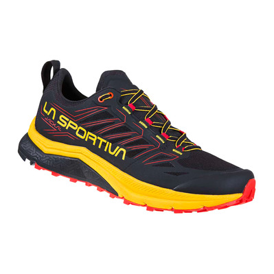 LA SPORTIVA - JACKAL - Chaussures trail Homme black/yellow