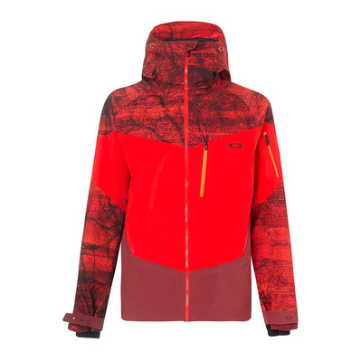 TIMBER 2.0 SHELL 3L 15K - Veste Homme fired forest p