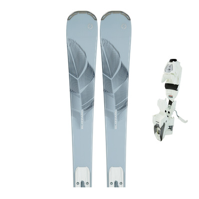 ELEVATE 7.2 - Skis piste Femme ice/blue + Fixations TLT 10 DEMO W