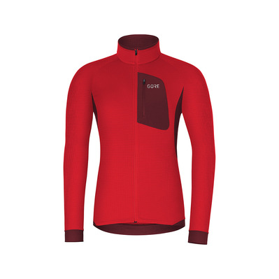 Wear M THERMO - Maillot Homme red/chestnut red