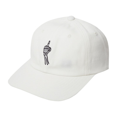 FINGER - Casquette Homme dirty white
