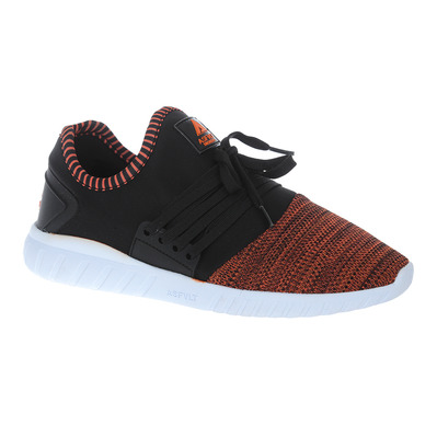 AREA LOW - Sneakers black/nectarine