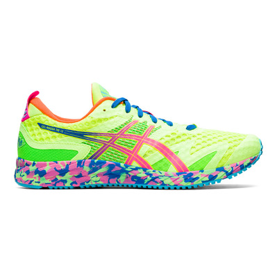ASICS - GEL-NOOSA TRI 12 - Zapatillas de running hombre safety yellow/hot pink