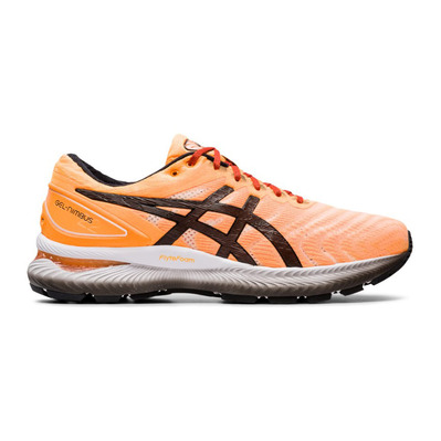 ASICS - GEL-NIMBUS 22 - Zapatillas de running hombre orange pop/black