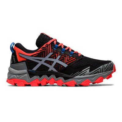 ASICS - GEL-FUJITRABUCO 8 - Zapatillas de trail mujer flash coral/sheet rock