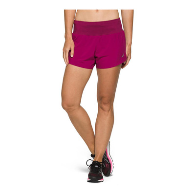 ASICS - ROAD 3.5IN - Short Donna dried berry