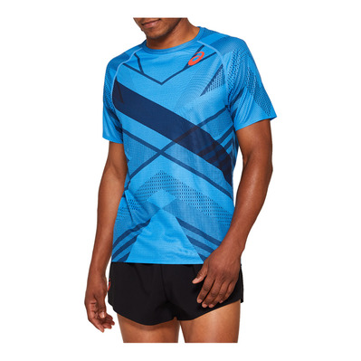 ASICS - M COOLING - Maillot Homme dolphin blue