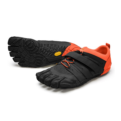 FIVE FINGERS - V-TRAIN 2.0 - Zapatillas de trainning hombre black/orange