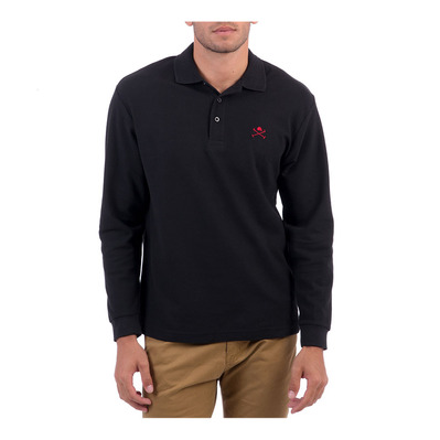 ACADEMY LS - Polo Homme black