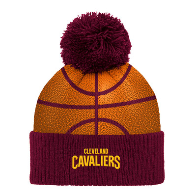 B-BALL - Bonnet Junior orange/burgundy