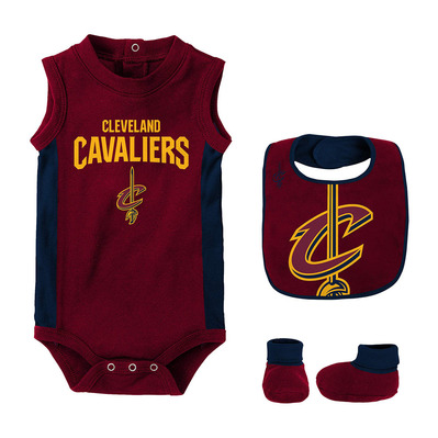 CAVALIERS 2 - Body + bavoir + chaussons Bébé team color