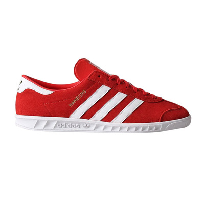 HAMBURG BY9757 - Sneakers Homme red/white