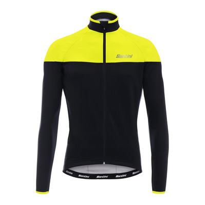 AW HERMES WDS - Veste Homme black/fluo yellow