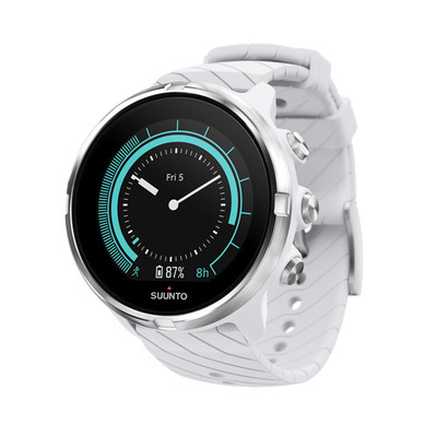 9 G1 - Montre connectée GPS/Cardio white