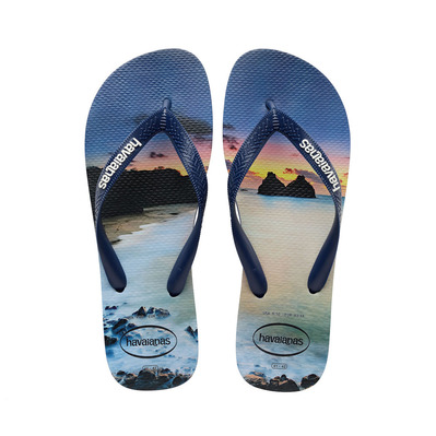 HAVAIANAS - HYPE - Tongs Homme navy blue/navy blue
