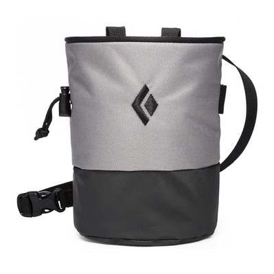 BLACK DIAMOND - MOJO ZIP CHALK - Sac à magnésie ash/slate