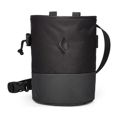 BLACK DIAMOND - MOJO ZIP CHALK BAG Unisexe Black-Slate