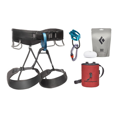BLACK DIAMOND - MOMENTUM HARNESS - M'S PACKAGE Homme Anthracite