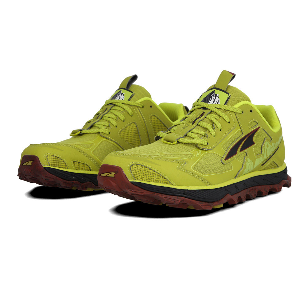 ALTRA - LONE PEAK 4.5 - Chaussures trail Homme lime/red