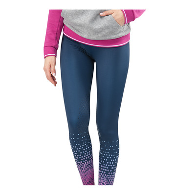 EQUILINE - CARRIE - Legging siliconé Femme blue