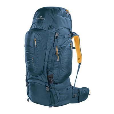 FERRINO - TRANSALP 60L - Rucksack - blue/yellow