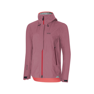 Wear H5 GORE®TEX® ACTIVE - Giacca Donna chestnut red/hibiscus pink