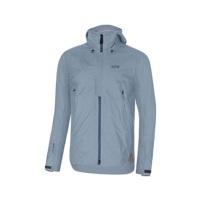 Wear H5 GORE® TEX® ACTIVE - Giacca Uomo deep water blue/cloudy blue