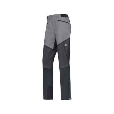 Wear H5 GORE® WINDSTOPPER® - Pantaloni ibridi Donna black/terra grey