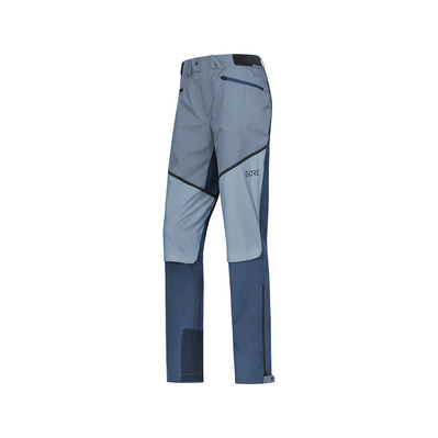 Wear H5 GORE® WINDSTOPPER® - Pantaloni ibridi Donna deep water blue/cloudy blue