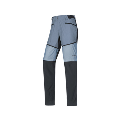 Wear H5 GORE® WINDSTOPPER® - Pantaloni ibridi Uomo black/cloudy blue