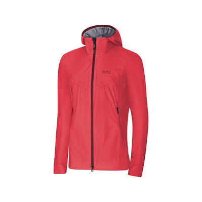 Wear H5 GORE® WINDSTOPPER® - Giacca Donna hibiscus pink/chestnut red