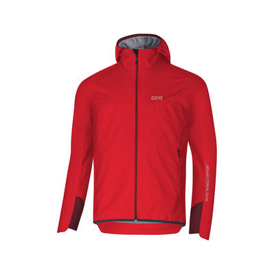 Wear H5 GORE® WINDSTOPPER® - Giacca Uomo red/chestnut red