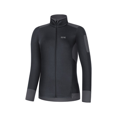 Wear M THERMO - Maglia Donna black/terra grey
