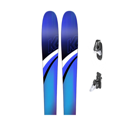 THRILLUVIT 85 - Skis all mountain Femme + Fixations RX 12 B85 matt white