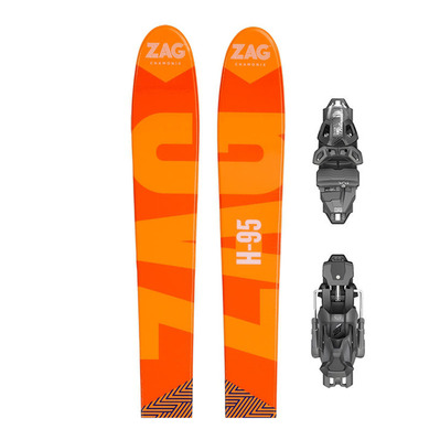Zag H95 18/19 - Skis all mountain + Fixations PRD 12 MBS B95 solid black