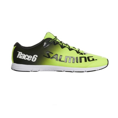 RACE 6 - Chaussures running Homme jaune fluo