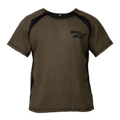 AUGUSTINE OLD SCHOOL - Camiseta hombre army green