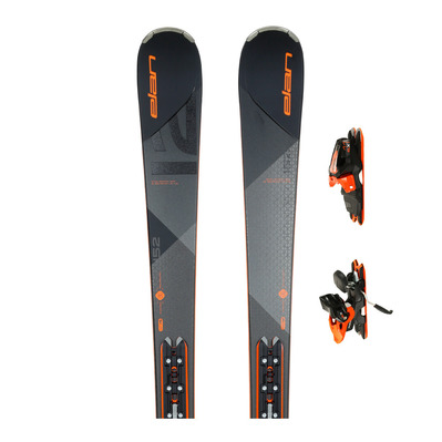 AMPHIBIO 12 TI PS - Esquís all mountain + Fijaciones ELX 11.0 GW SHIFT B85 matt black/orange