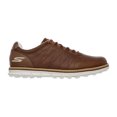 GO GOLF TOUR ELITE - Chaussures Homme brown leather/trim