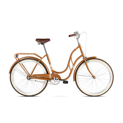 "MADISON 1 26"" - Vélo urbain Mixte brown glossy"