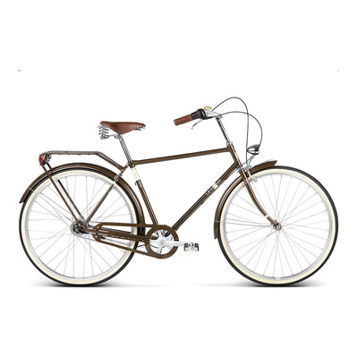 "WILLIAM 4 28"" - Vélo urbain Homme brown glossy"