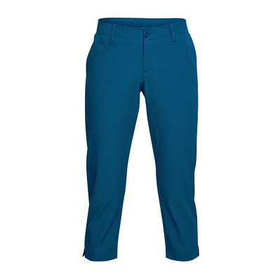 Under Amrour LINKS CAPRI - Pantacourt Femme moroccan blue