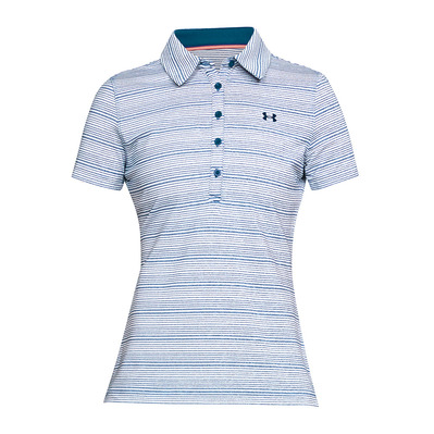 ZINGER SS NOVELTY - Polo Donna moroccan blue