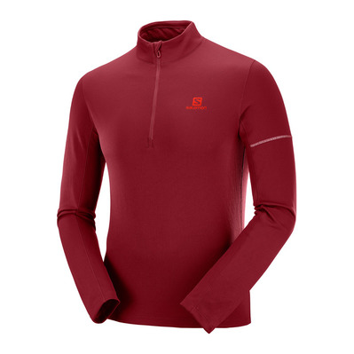 AGILE HZ MID - Camiseta térmica hombre red/fiery red
