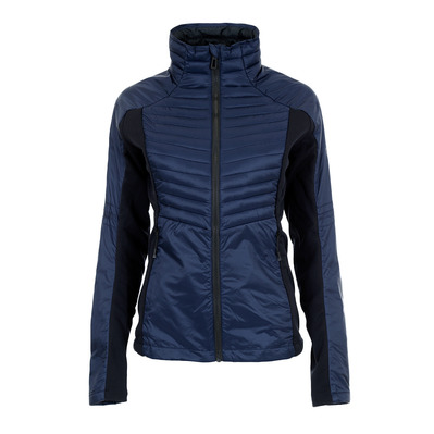 COURSE LIGHT - Doudoune hybride Femme blue/black